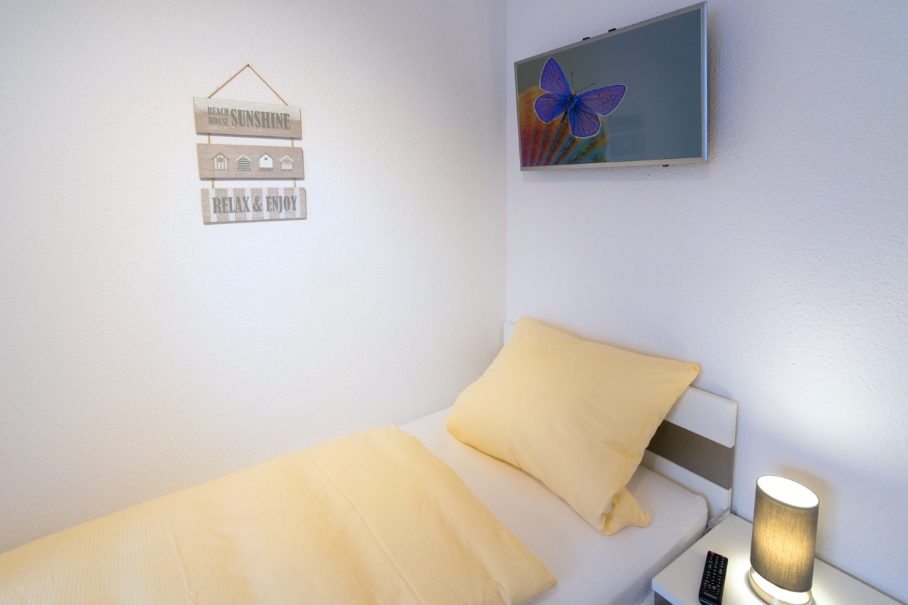 Schlafzimmer zwei Einzelbetten