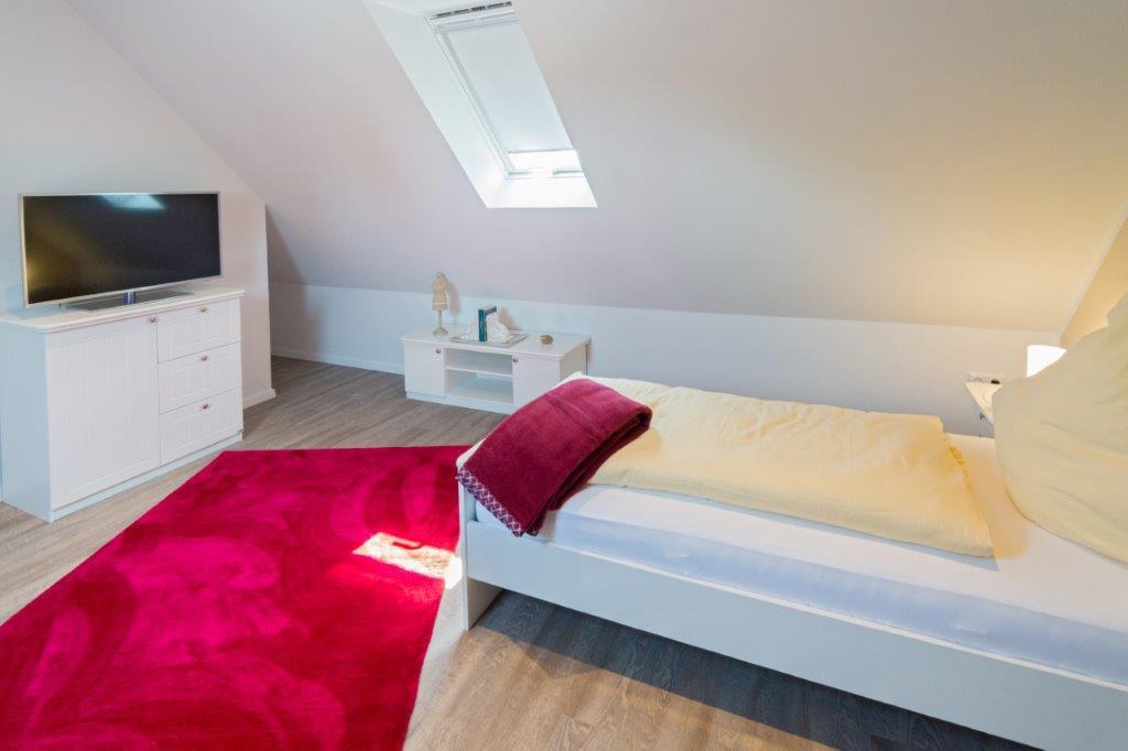 Schlafen Dachgeschoss mit SAT TV