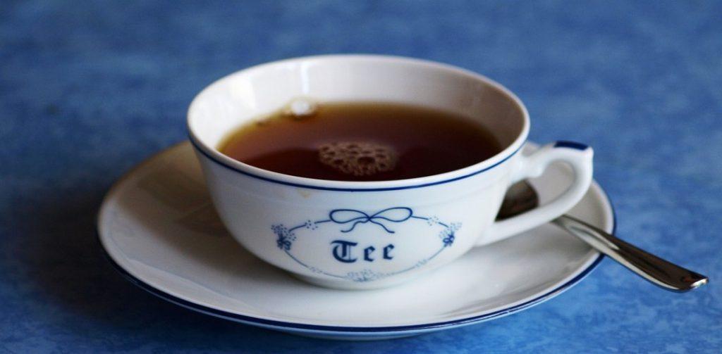 Eine Tasse ostfriesen Tee