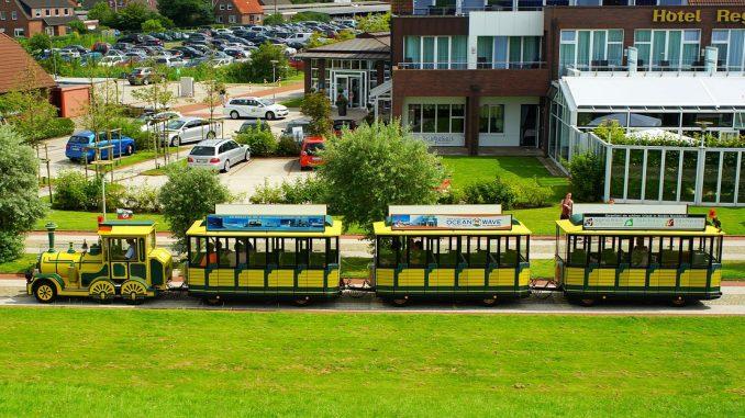 Bimmelbahn in Norddeich