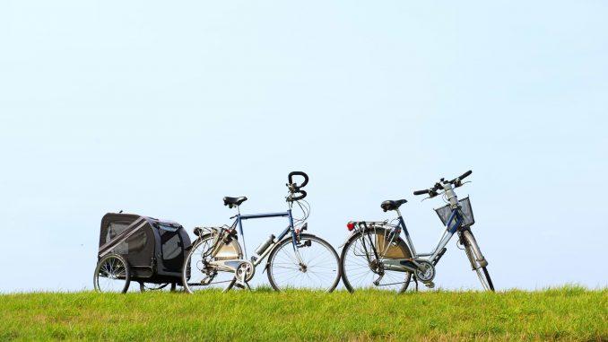 Radfahren am Deich